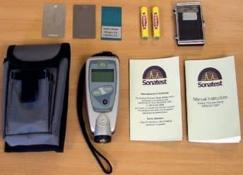 medidor de espesores SonaCoat Easy FN