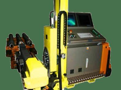 Boretest Hollow train axle inspection system