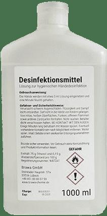 Desinfectante protección personal 1 litro