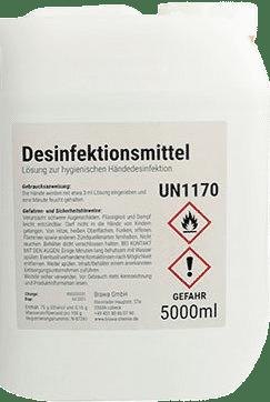 Desinfectante protección personal 5 litros