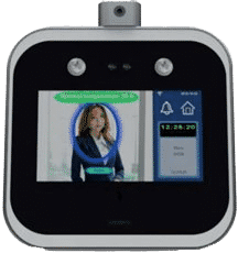 Escáner de temperatura sensor facial