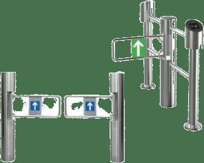 Control de acceso tipo torniquete